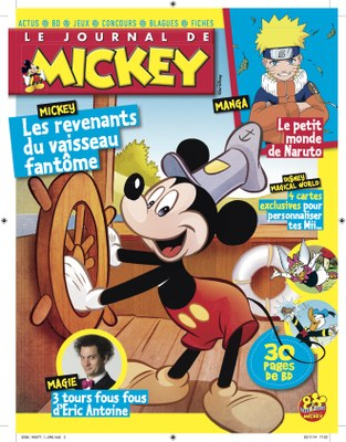 le journal de mickey la presse jeunesse. Black Bedroom Furniture Sets. Home Design Ideas